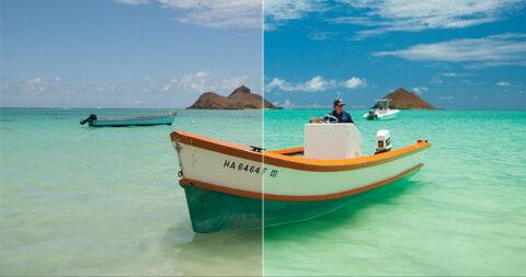 Maui-Jim-PolarizedPlus2-gepolariseerde-glazen-vs-Ray-Ban-zonnebril-MauiJimzonebril.nl