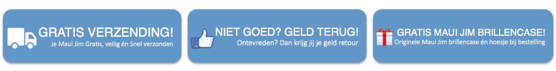 Voordelen-MauiJimzonnebril.nl-Gratis-Verzending-Niet-goed-Geld-Terug-Gratis-Brillencase